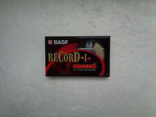 Vintage Audio Cassette BASF Record-I 60 * Rare From 1997 *