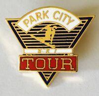 Park City Ski Tour Pin Badge Rare Vintage (C13)
