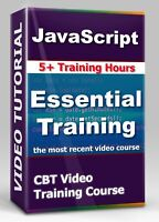 JavaScript Essential Training - CBT Video Training Course - 5+ Hours + Exercises
