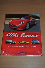 Buch Bildband Alfa Romeo Alle Automobile seit 1946 Gera Mond Wolfgang Hörner OVP