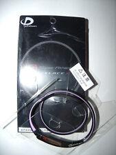 PHITEN X30 SUPER ATHLETE SILICONE NECKLACE BLACK VIOLET 43CM