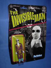 "THE INVISIBLE MAN Universal Monsters Funko ReAction 3.75""  FIGURE"