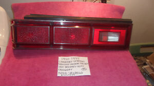 1980-1985 CHEVROLET CITATION GM FACTORY OEM DRIVERS LEFT TAILLIGHT FREE SHIPPING