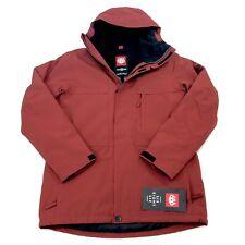 NEW Men's 686 Ranger Snowboard Ski Insulated Winter Jacket Burnt Red Size Medium