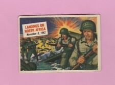 1954 Topps Scoop #30 Single Print # Allies Invade North Africa