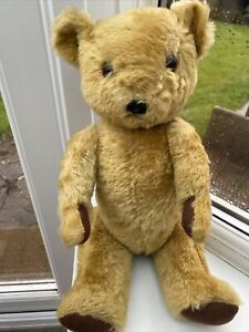 VINTAGE Deans Childsplay  Jointed Teddy  Bear with Growler  16 inch