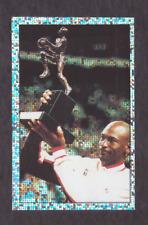 1992/93 Panini Stickers MICHAEL JORDAN Foil Sticker Chicago Bulls MVP Italian