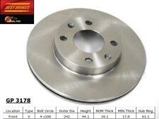 Disc Brake Rotor-DX Front Best Brake GP3178