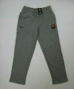Nike FC Barcelona Herren Trainingshose Sweat Jogging Hose 522739 grau, Gr. XL