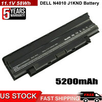 Battery J1KND For DELL Inspiron 3520 3420 M5030 N5110 N5050 N4010 N7110 Laptop