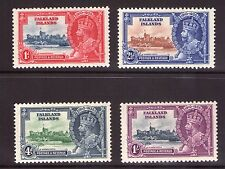 Falkland Islands 1935 Silver Jubilee Set  lightly hinged, fresh colours.