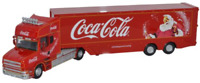 Oxford Diecast 76TCAB004CC  Coca Cola T Cab Scania & Box Trailer OO Gauge