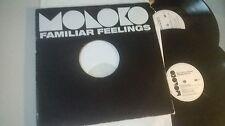 "LP pop Moloko-Sounds feelings 2x 12"" (5 Song) Promo Roadrunner Echo"