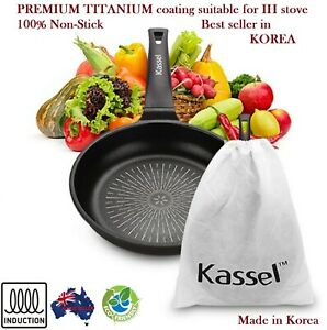 KASSEL Premium **TITANIUM **INDUCTION** Non-Stick Coated Fry pan, Wok pan