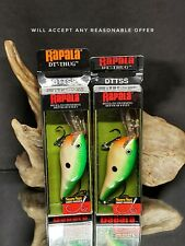 Rapala DT Thug Lot Of 2 Fishing Lures