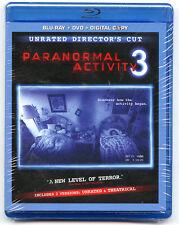 PARANORMAL ACTIVITY 3 - Blu-Ray- DVD- DIGITAL COPY **BRAND NEW SEALED**
