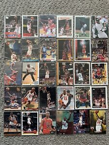 Premium Michael Jordan Lot of 30 Cards Ready For Grading Nice Lot ALL DIFFERENT