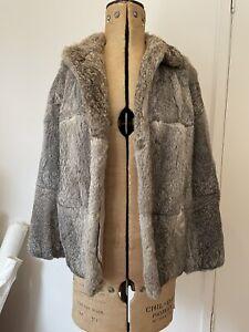 Mr Roberts Real Fur Vintage Grey/brown Jacket