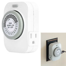 15A Amp UL Listed Hydroponics Indoor Gardening Grow Light Grounded Outlet Timer