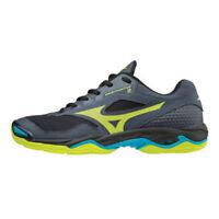 Mizuno WAVE PHANTOM 2 Men's Indoor Shoes Dark Gray Badminton NWT X1GA186047