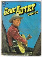 GENE AUTRY #15 Golden Age Dell Comic Book ~ G