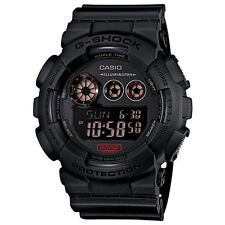 Casio G-Shock GD120MB-1 Big Case Multi Window Matte Black Digital Men's Watch