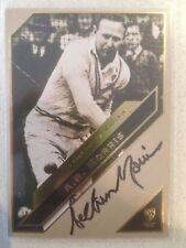 Arthur Morris 2011 Heritage Test Cricket Captain Black On Card Signature #25/200