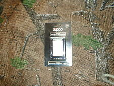 Zippo Satin Chrome #205 Windproof Lighter New in Retail Package