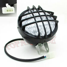 12V LED Head Light Front Headlight 4 Wheeler Sunl Taotao Kazuma ATV Quad Go Kart