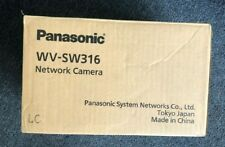 New Panasonic WV-SW316 Outdoor Network  Camera *Read*