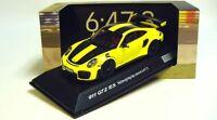 1:43 SPARK 2017 Porsche 911 991 II GT2 RS NBR Lap Record yellow DEALER PROMO !!!