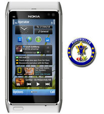 100% Original Housing Body Panel for Nokia N8 - Silver