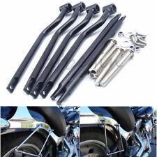 Steel Refit Saddlebag Support Bar Mounting Bracket For Harley Cafe Racer Chopper