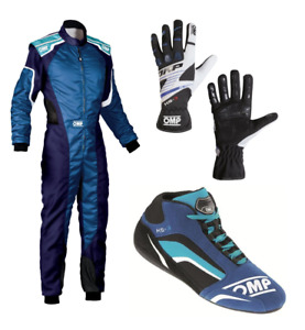 GO KART RACE SUIT CIK/FIA level 2 Approved With shoes gloves and balaclava