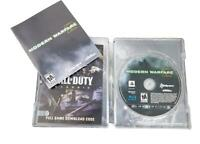 Call of Duty Modern Warfare 2 Hardened Ed Steel Book Case PS3, Excellent