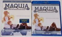 Maquia: When The Promised Flower Blooms Blu Ray DVD Slipcover BRAND NEW SEALED