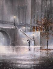 Jeff Rowland art - Bridge To Your Heart - signed print