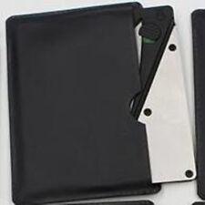 Wallet Knife survival Credit Card Folding Razor Sharp Safety Tactical Tool 2# uf