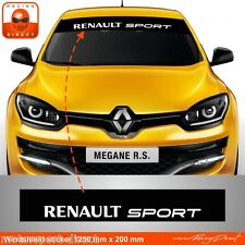 Sticker Renault sport Clio twingo Megane aufkleber adesivi pegatina  RE41B