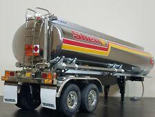 Use Tamiya R/C 1/14 Semi Shell Fuel Tank Tanker Trailer Tractor with Light Kit