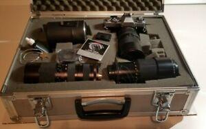Vintage Minolta HD5 Film Camera w/ Case included