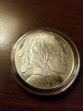 """1 oz .999 Fine Silver Round/Bar """"Buffalo Indian Head"""""""