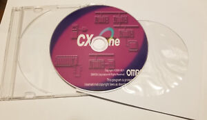 Industrial Controls PLC software OMRON CX One ver 4.4 w/ CX Programmer ver 9.6