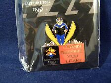 2002 Salt Lake Winter Olympics Ski Jump Pin  Buy for Charity