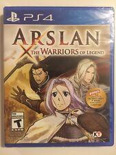 Arslan: The Warriors of Legend w/ Bonus DLC PS4 SONY FACTORY SEALED Quick SHIP!