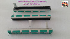 STEREO fader / slider 10k as Replacment part for  Numark Kam  Warrior mixers etc