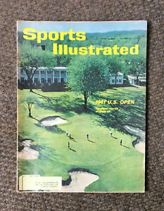 Vintage 1961 Sports Illustrated US Open Golf Oakland Hills Country Club