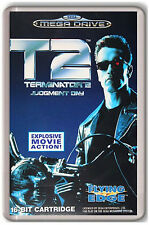 TERMINATOR 2 JUDGMENT DAY SEGA MEGA DRIVE FRIDGE MAGNET IMAN NEVERA