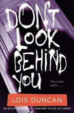 NEW - Don't Look Behind You by Duncan, Lois