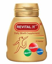 Ranbaxy Revital  60 Capsules Daily Health Supplement Vitamin Mineral For Men ,